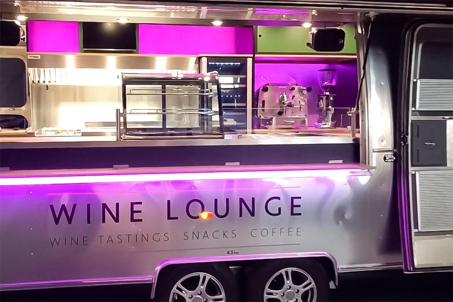 Video über Food Trailer für Fine Dining, Wine Tasting und Café.