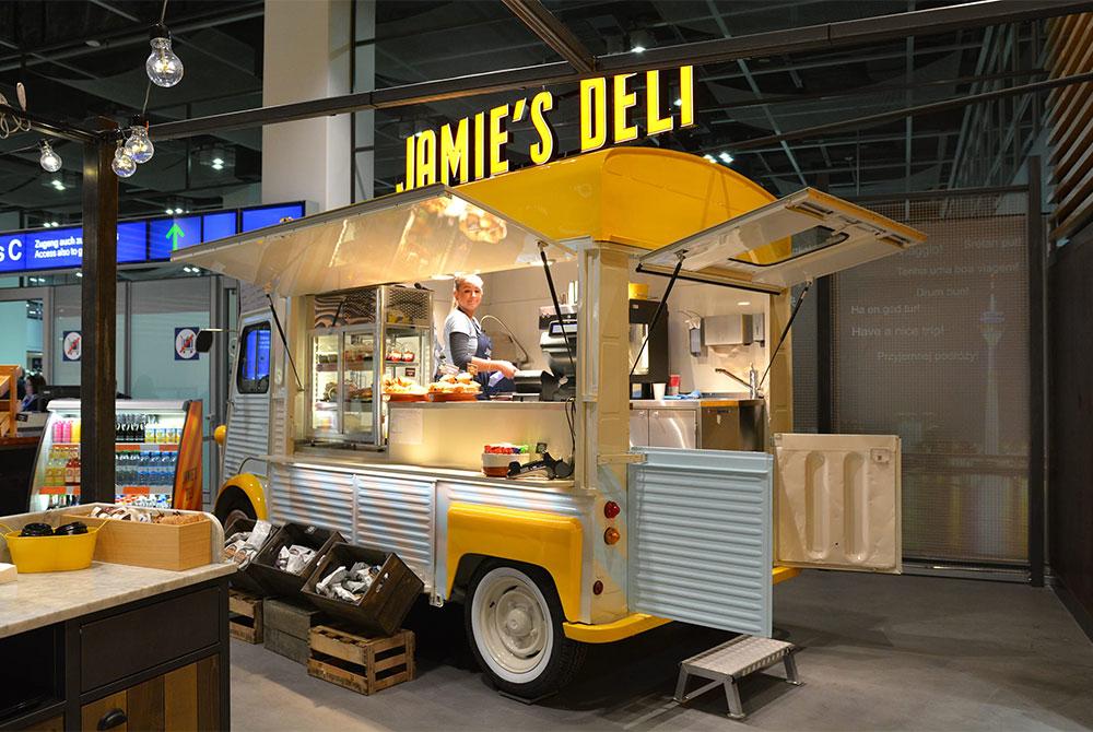 Food Truck als Kaffemobil auf Basis eines Citroen HY.