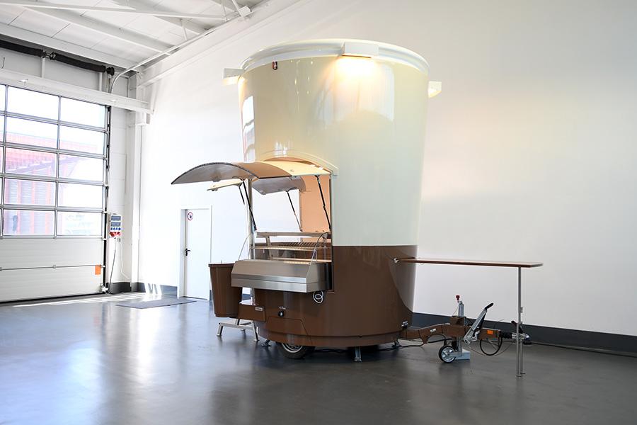 Kaffeemobil für Kaffeeverkauf zum mieten.