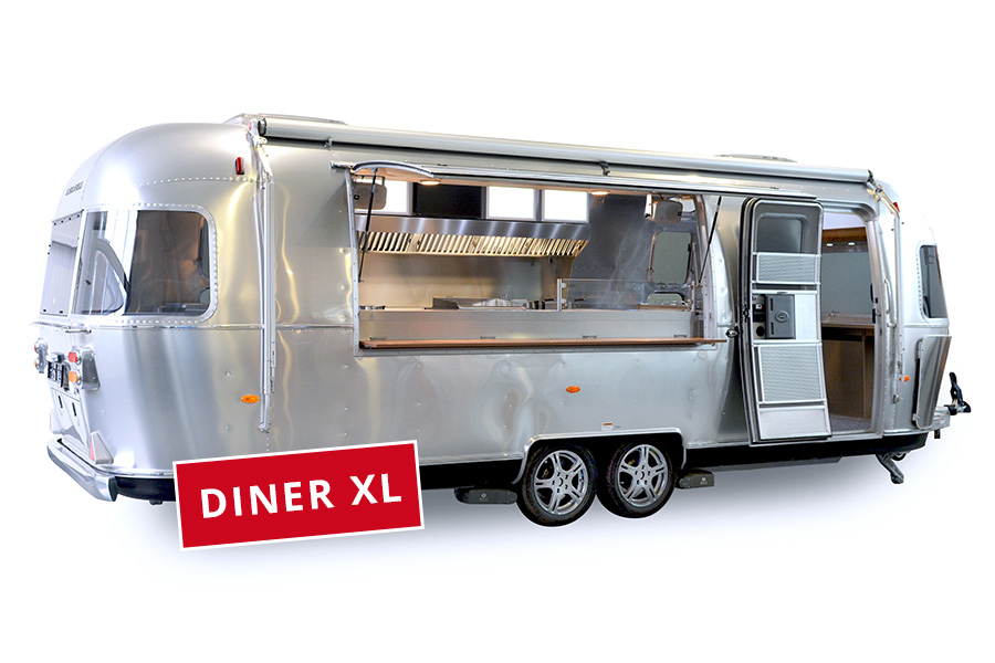 Airstream Food Trailer in der XL-Version