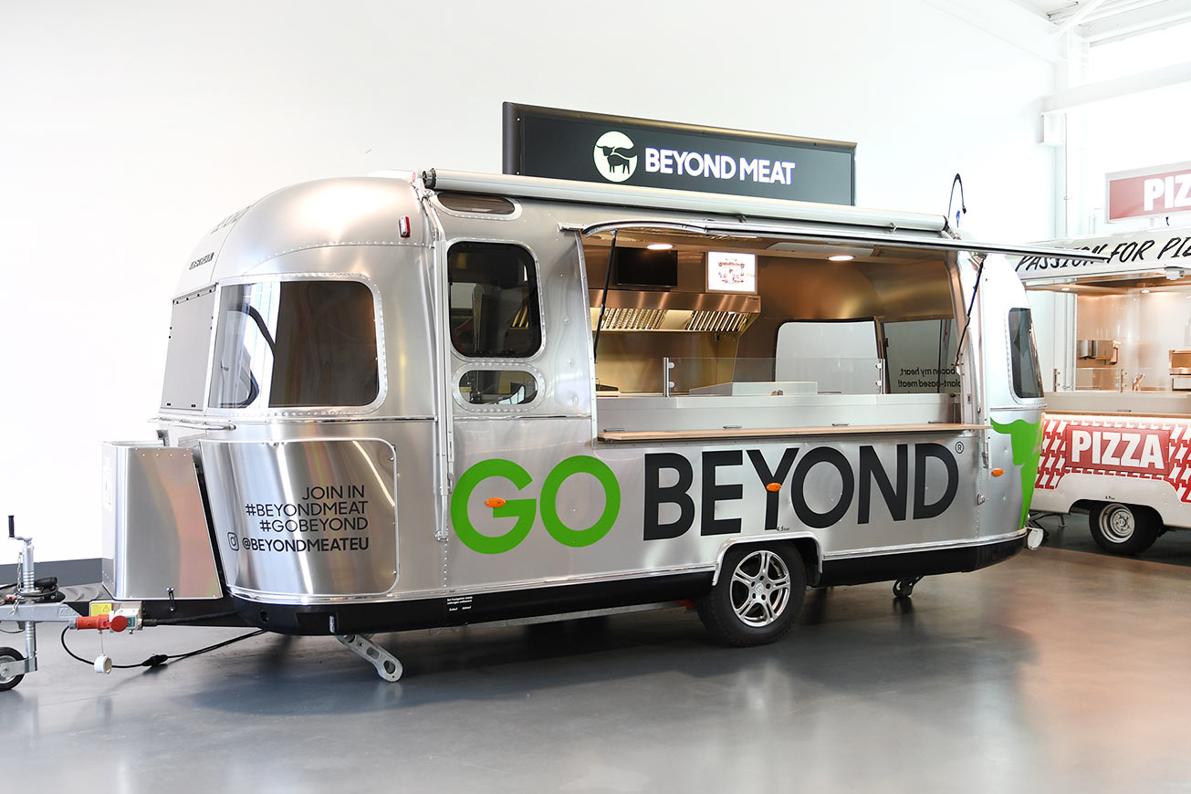 Airstream Caravan als Food Trailer für Promotionzwecke.