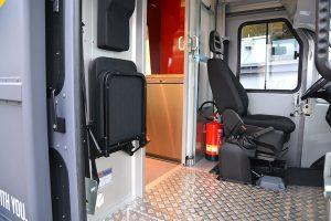 Fahrerkabine des Food Truck Continental