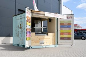 Eis-Container für Gimme Gelato