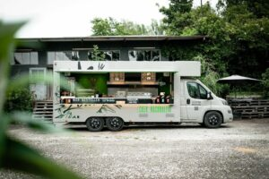 Food Truck von Flotte Lotte in Ulm.