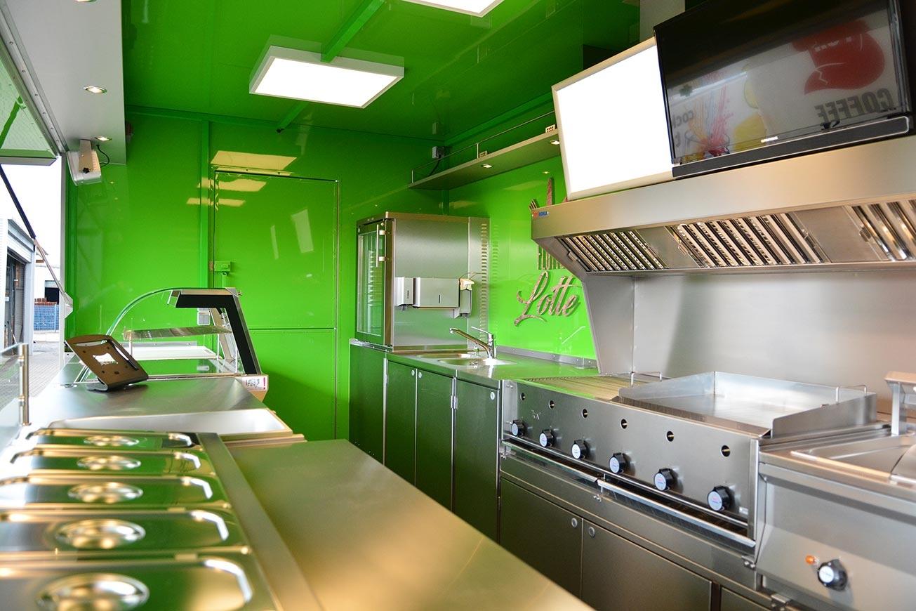 Food Truck, ROKA Foodtrucks, Verkaufsfahrzeuge