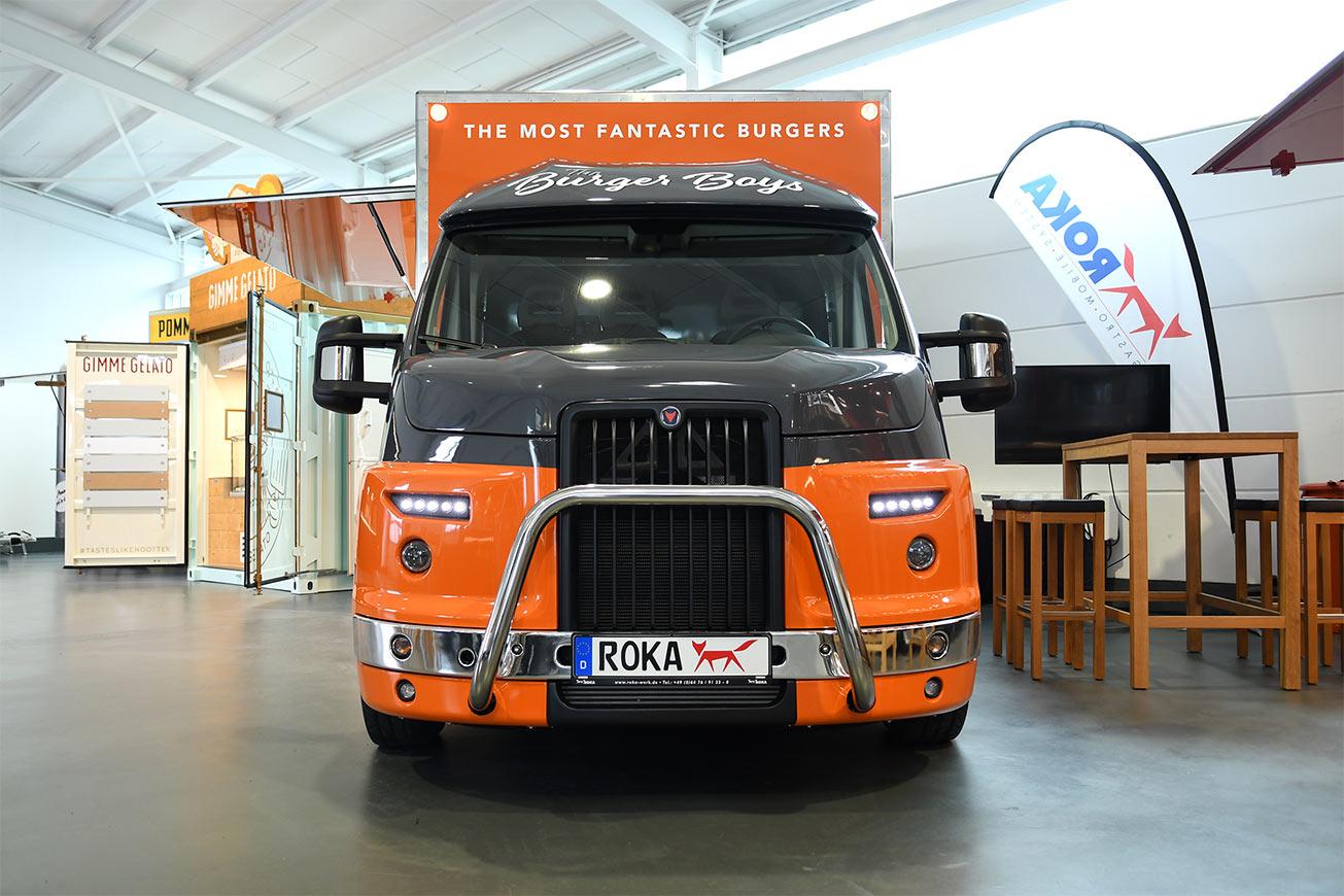 Food Truck für Catering und Imbiss.