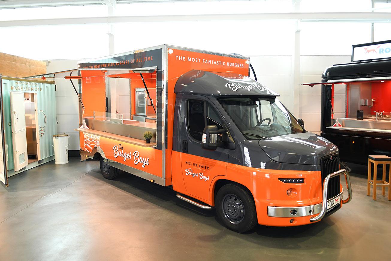 Food Truck Detroit im US-Style.