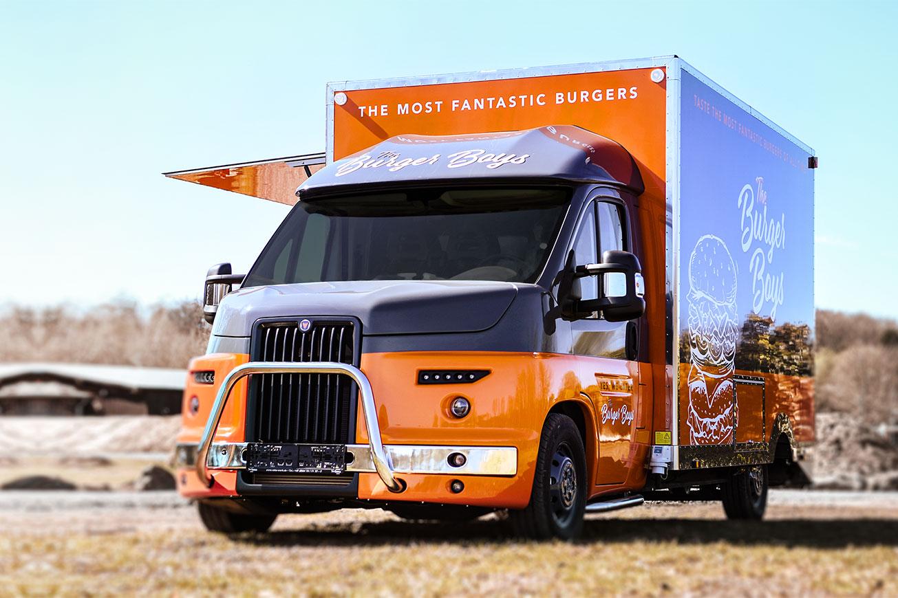 Food Truck Detroit - der neue im US-Look