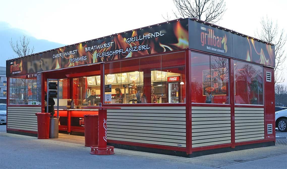 ROKA Verkaufscontainer, Gastronomie-Anlagen, Gastro-Container