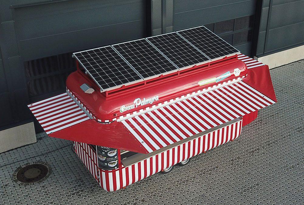 Green Palmyra – Solarunterstützter Food Trailer für Nürnberger Märkte