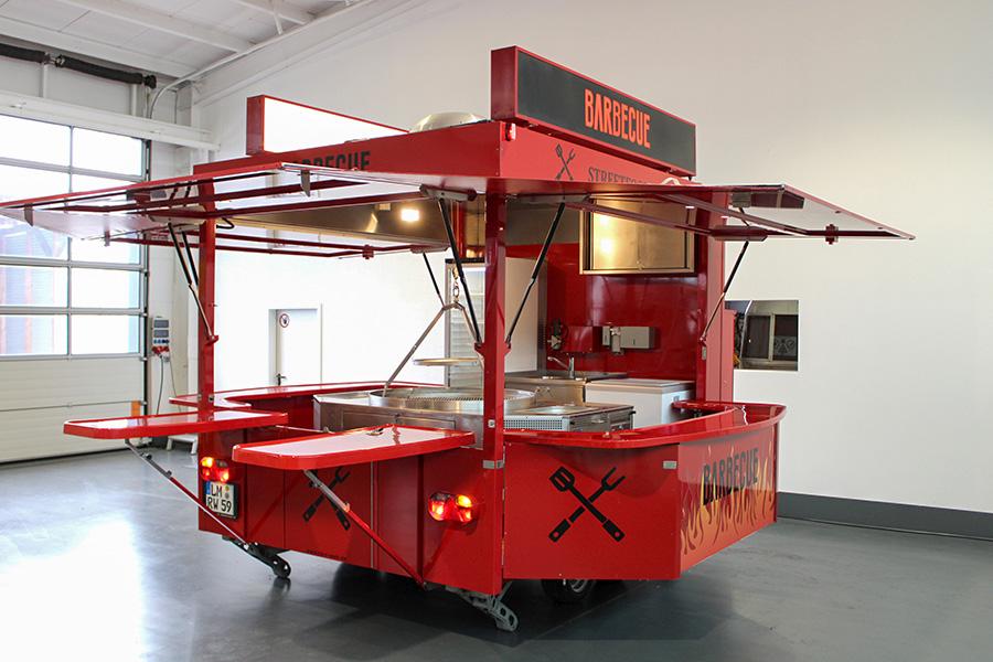 Grillwagen statt Food Truck mieten!