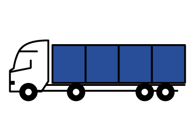 Icon für Logistik der Hygienecontainer.
