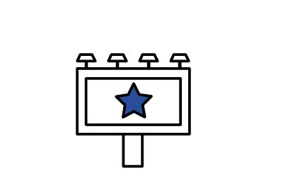 Icon für Werbeflächen der Hygienestation.