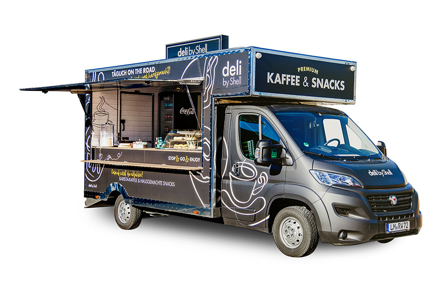 Food Truck in kurzer Variante