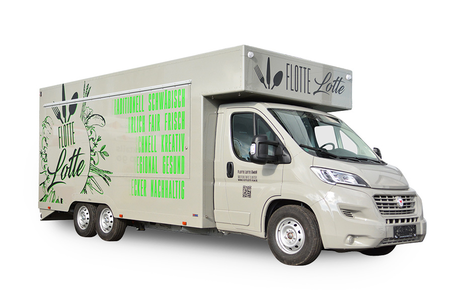 Food Truck in XL-Variante