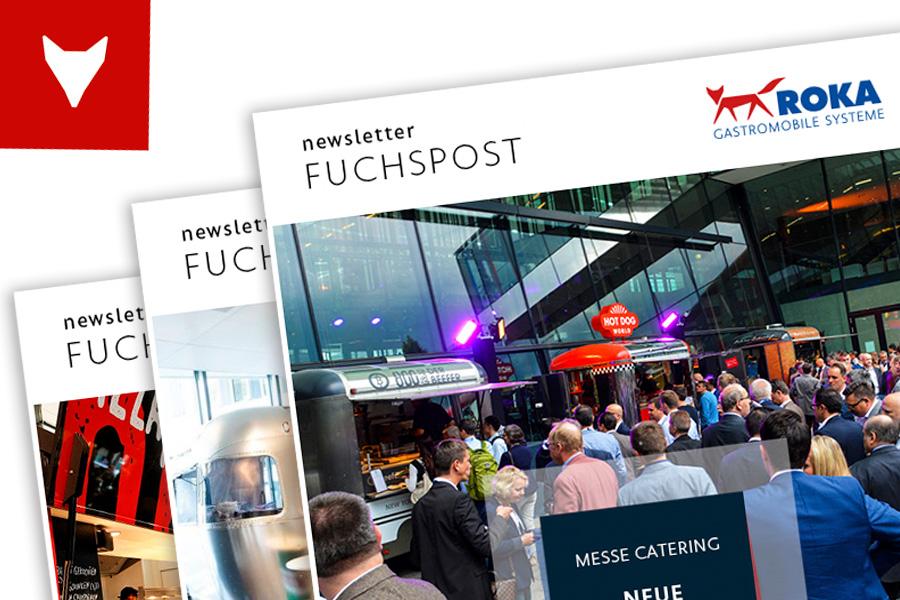 Anmeldung zum Newsletter über Verkaufsfahrzeuge und Food Trucks.