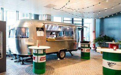 AIRSTREAM Diner für TRIVAGO's Culture Kitchen