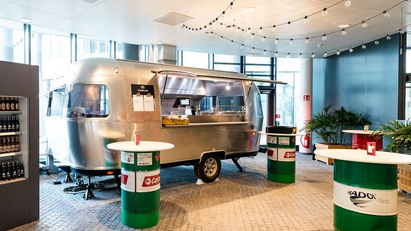 AIRSTREAM Diner für TRIVAGO's Culture Kitchen