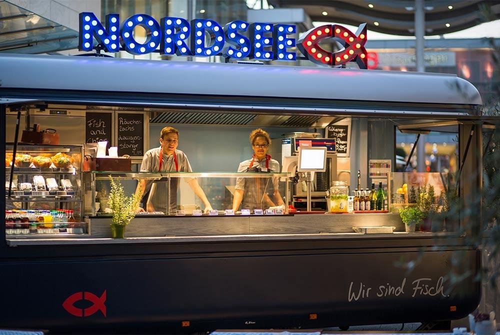 Verkaufsanhänger, Food Trailer, ROKA Verkaufsfahrzeuge