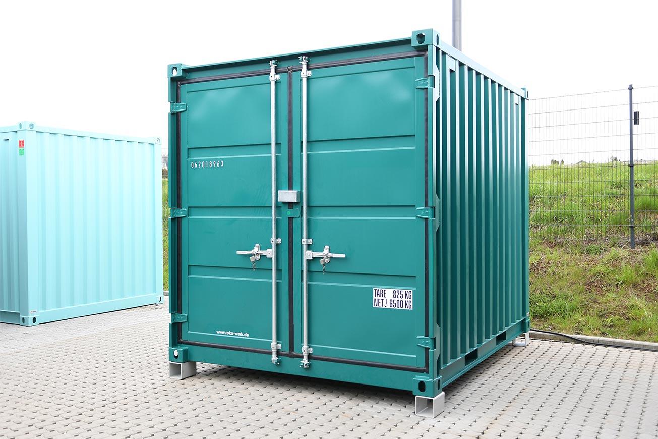 ROKA Kühlcontainer als Ergänzung für Außengastronomie