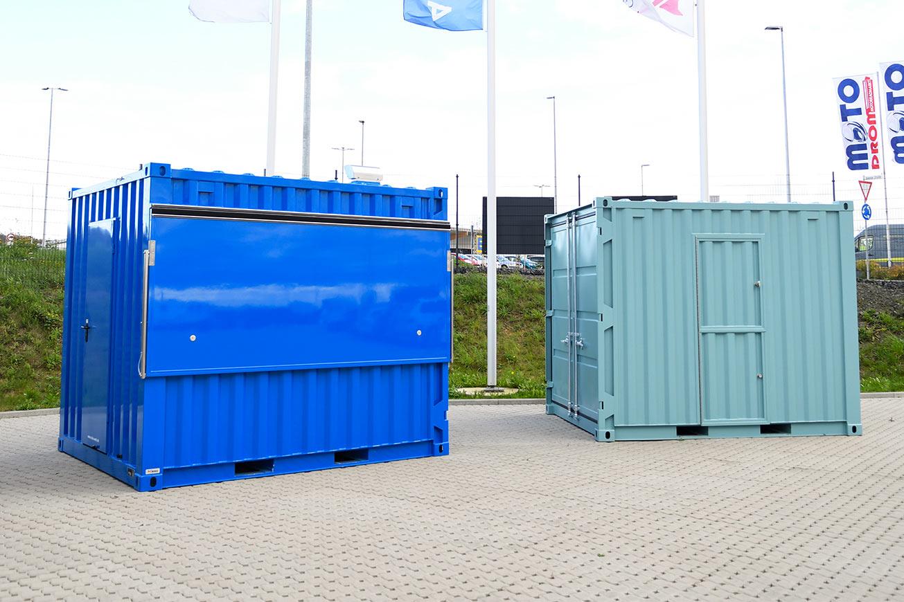 Gastro Seecontainer 10 ft für Außengastronomie.
