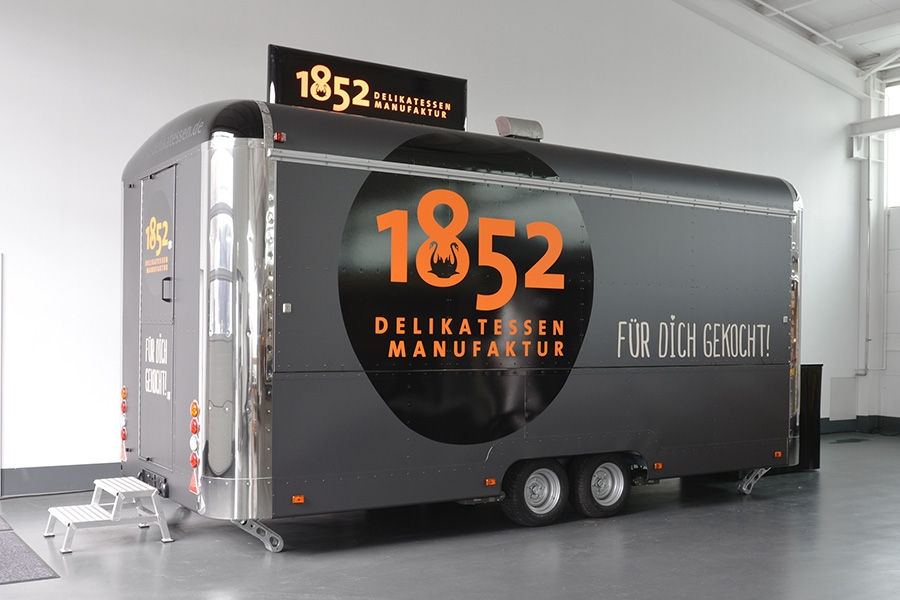 ROKA Steelrunner, Food Trailer, Verkaufsanhänger, Imbisswagen