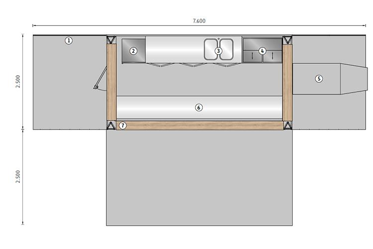 Studio 54 Grundriss